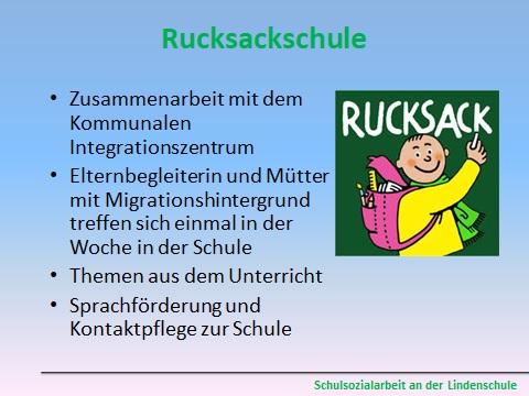 Rucksackschule